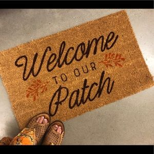 Other - 'Welcome to Our Patch' Door Mat